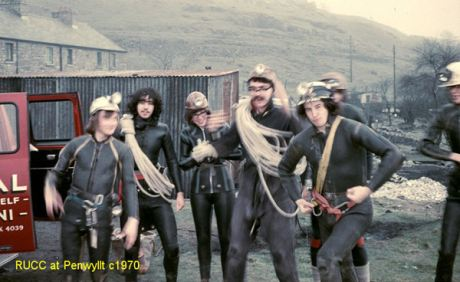 Reading University Caving Club, South West Caving Club, 1970