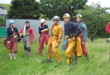 Reading University Caving Club, South West Caving Club, 2005